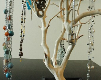 "24"" Natural Jewelry Tree / Jewelry Organizer"