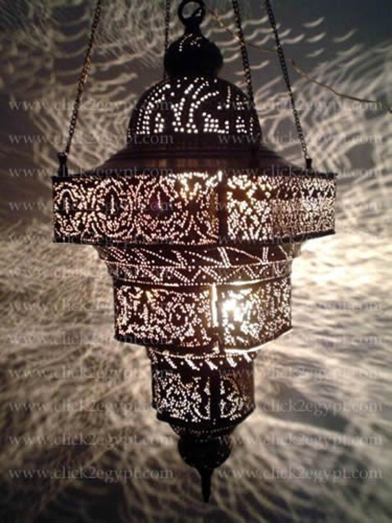 Items Similar To Antique Moroccan Style Pierced Large