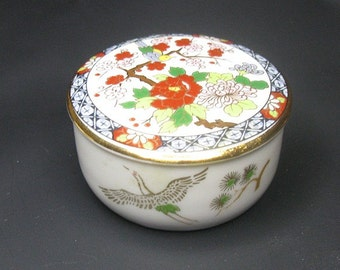 Vintage Japanese Porcelain  Little Box