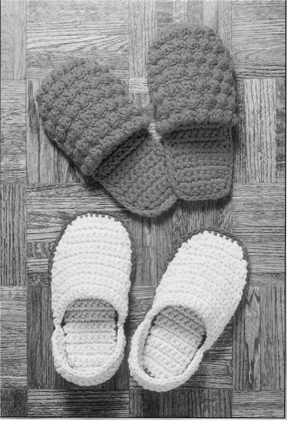 Crochet Patterns For Men Slippers Crochet Pattern Slippers 2
