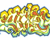 Custom Graffiti  Art
