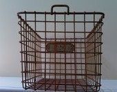 Vintage Gym Basket No. 326, Lyon Metal Products Incorporated