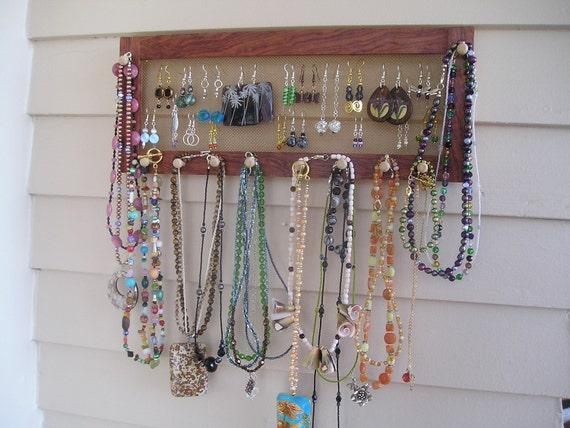 Jewelry Organizer - Horizontal Bubinga