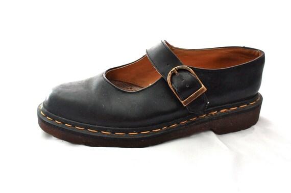 black mary jane Doc Martens size US 8.5 / UK 6