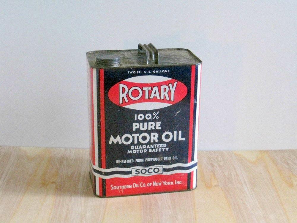 Vintage Motor Oil 97