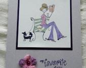 My Favorite Day Tea Greeting Card