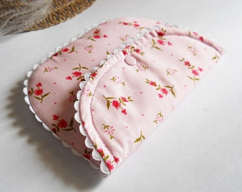 Pocket clutch Sewing pattern (PDF) - Vintage Style - Peony-Instant Download Tutorial
