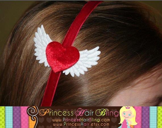 Angel Heart Headband (U-Pick Color)
