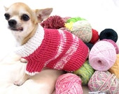 Extra small dog clothing clothes cat pets sweater Myknitt D863 XS free shipping