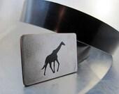 Giraffe Belt Buckle