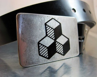 Cubes Belt Buckle