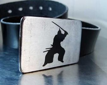 Samurai Belt Buckle
