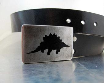 Stegosaurus Belt Buckle