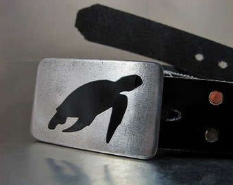 Sea Turtle Belt Buckle