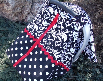 Carseat Canopy / Carseat Cover Nursimg Cover Design your Own