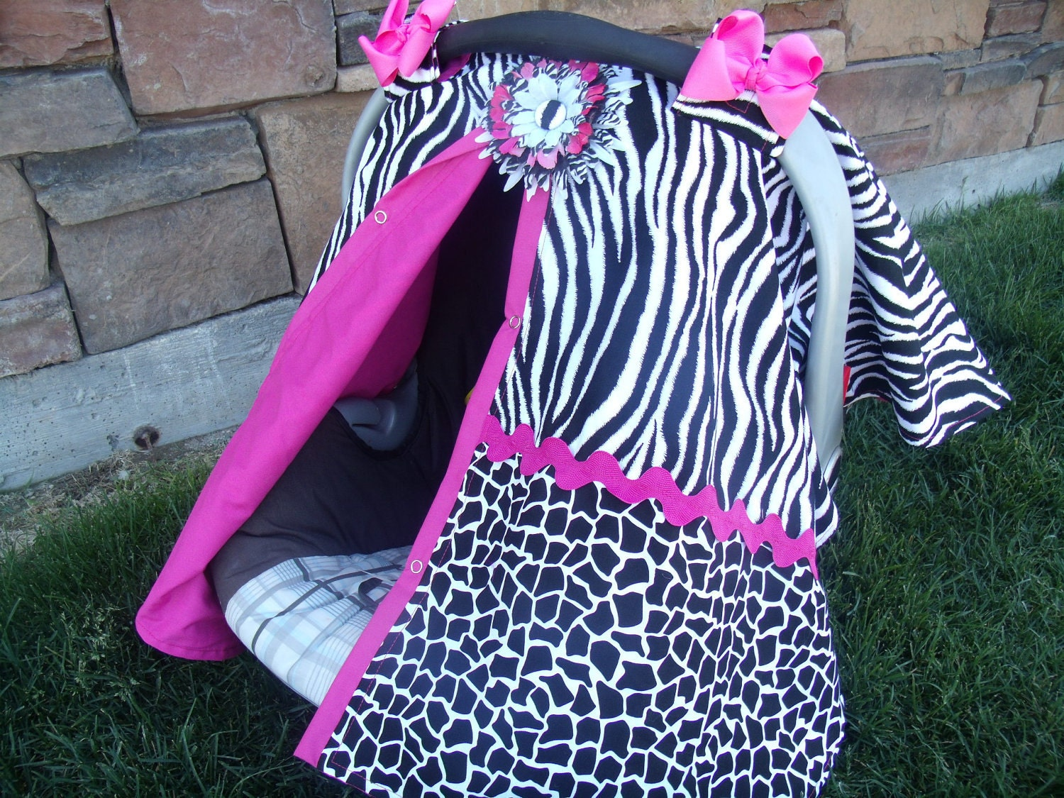 Carseat Canopy FREESHIP / Carseat Cover / By Fashionfairytales