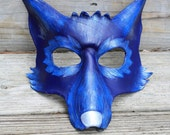 Leather Winter Wolf Mask