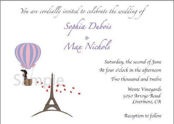 Custom Listing For:  doxiedarling - Dachshund Wedding Invitations  and RSVP Cards (40 of each)