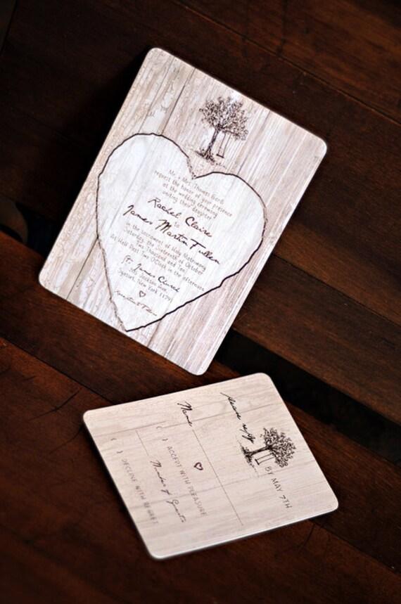 Elegant Woods Wedding Invitation - SAMPLE - 9260901-I