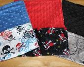Baby Boy Burp Cloth Set
