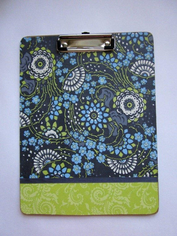 Amy Butler muti-colored double sided clipboard