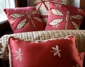 Dragonfly Throw Pillows