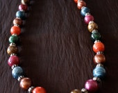Colored Beads Necklace