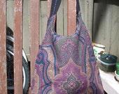Upholstery-Tapestry Shoulder Bag