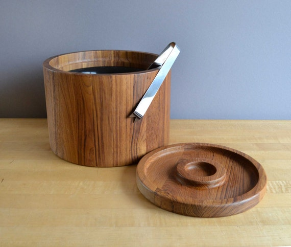 Dansk Ice Bucket in Teak