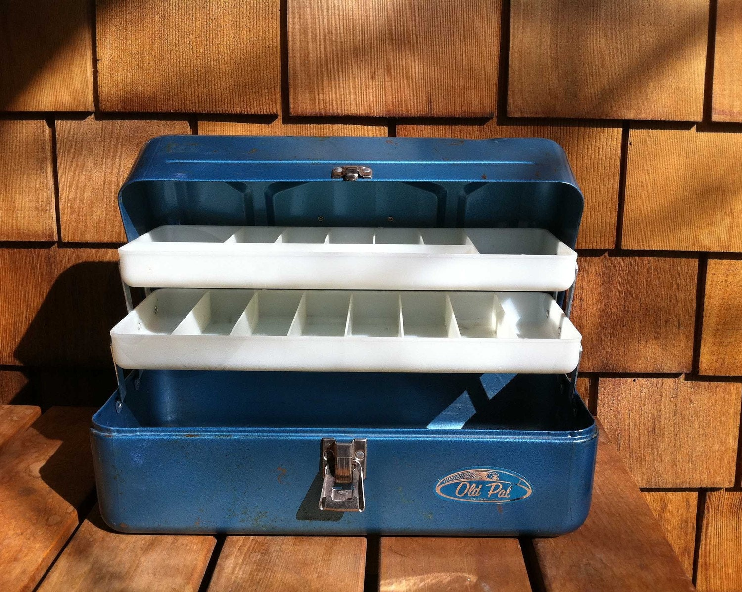 REDUCED Vintage TACKLE BOX by Old Pal Go by VintageExpedition