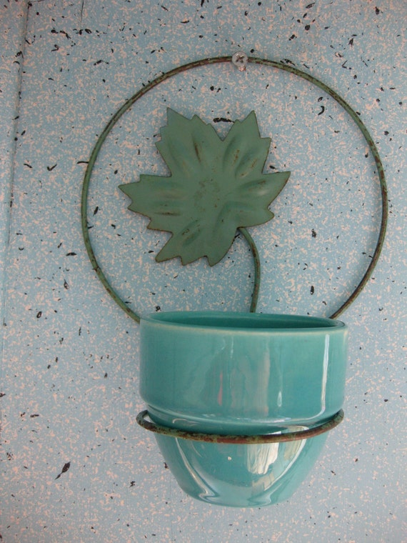 USA Pottery small hanging planter