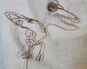 Pterodactyl - Baling Wire Art