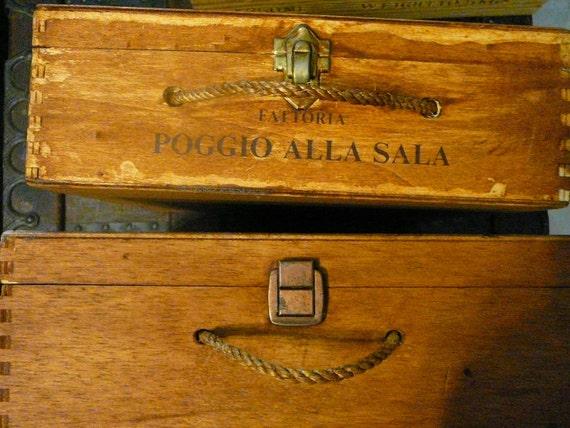 Reserved for Pamela Wine Box/ Wedding Decor/ Storage Box/ Treasure Container/