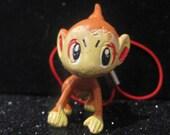 super cute chimchar pokemon phone charm kawaii harajuku