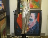 Gianni Versace Leather Jumpsuit (predeath issue) price dramatically reduced.