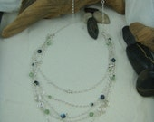 Sterling Silver and Swarovski Crystals Necklace