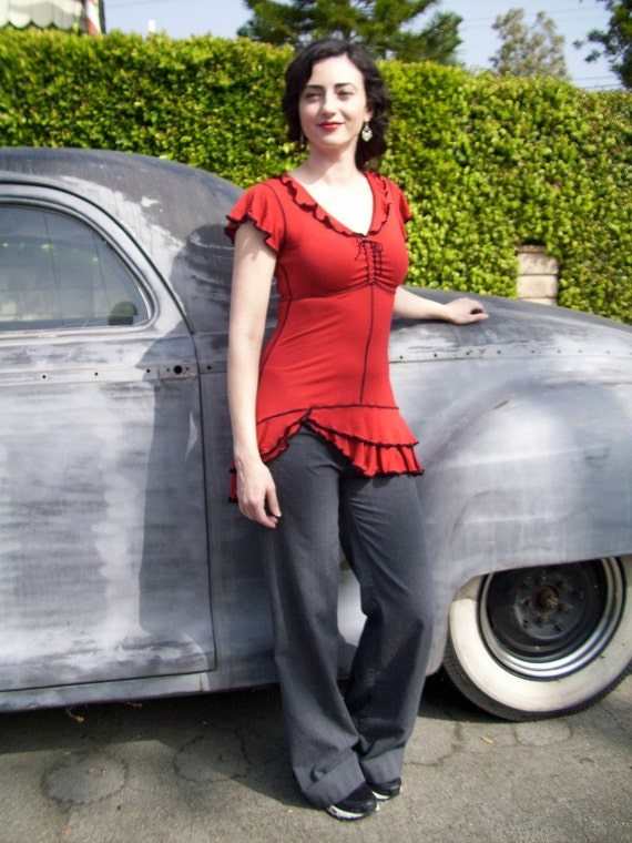 Little Betty Dress/Tunic in Red