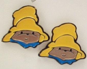 Buttons Paddington Bear 40th Anniversary - Set of 2 - DIY Supplies on Etsy