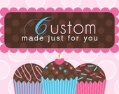 Custom Order jseidner16 - Cupcake Toppers