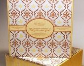 Lemon Chamomile Sensual Massage Oil & Sweet Clementine Pleasure Balm:  AROUSAL Bedside Box