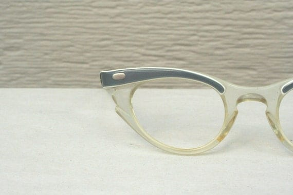 1950s Cat Eye Eyeglasses for Small Face Gray by DIAeyewear