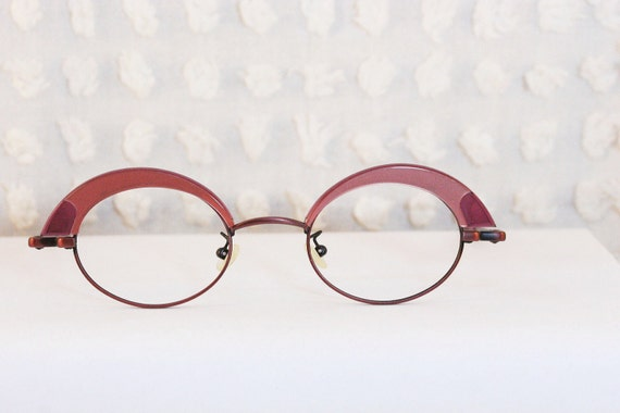 80s Glasses Pink Half Moon 1980s Browline by DIAeyewear ...
