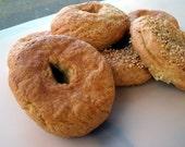 Gluten Free Plain Bagels - Half Dozen