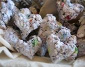 I love junk mail, Paper Hearts OOAK