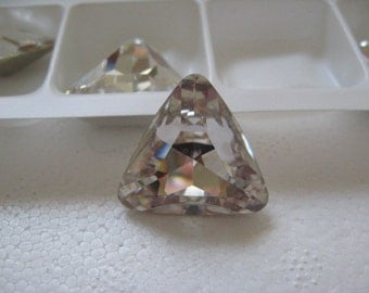 Swarovski Crystal Triangle 23mm