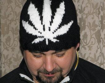 PDF Knitting Pattern - Knit Beanie Toque Skull cap  / Johnboy