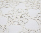 Vintage French Hand-tatted Doily