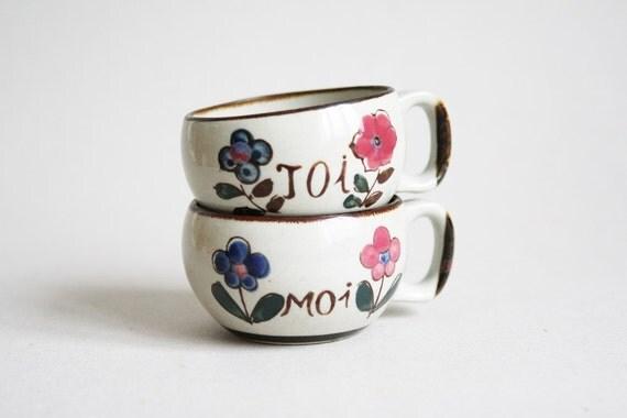 French YOU & ME Mugs