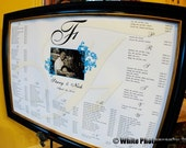 Custom Seating Chart to Match Your Invitation Suite - Digital File
