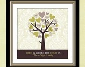 Last Minute Gift, Family Tree, Custom Wall Art,  Mother's Day Gift for Mom,  Personalized Digital File, DIY